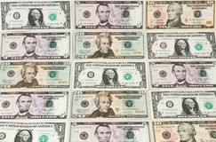 Dolarowi banknoty Obraz Royalty Free