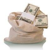 Dolarowi pieniędzy rachunki Fotografia Royalty Free