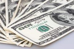 Dolarowi rachunki Zdjęcie Royalty Free