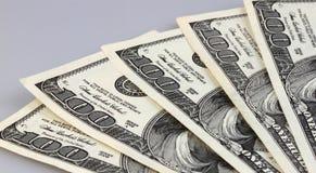 Dolarowi rachunki Zdjęcie Stock