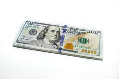 Dolarowi rachunki fotografia stock
