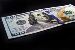 Dolarowi rachunki zdjęcia stock