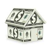 dolarowy dom Zdjęcie Royalty Free