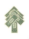 dolarowy jedlinowy drzewo Obrazy Stock