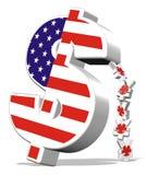 dolarowy jen Obrazy Royalty Free