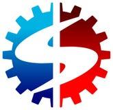 Dolarowy logo Zdjęcie Stock