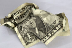 Dolarowy rachunek Zdjęcie Royalty Free
