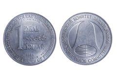 dolarowy rubel Zdjęcia Royalty Free