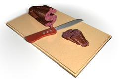 Dolarowy salami Fotografia Royalty Free
