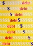 dolarowy spadać Zdjęcie Stock