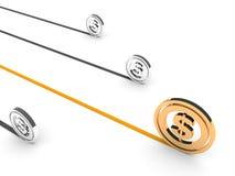 dolarowy symbol Obraz Stock