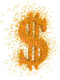 dolarowy target1610_0_ znak Zdjęcie Royalty Free