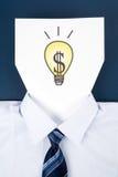 dolarowy twarzy papieru znak Zdjęcie Stock