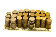 dolarowy wekslowy tempo Obrazy Stock