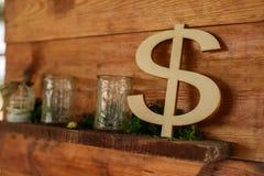 Dolarowy znak Zdjęcia Royalty Free