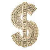 Dolarowy znak zdjęcie stock
