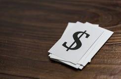 Dolarowy znak Obraz Royalty Free