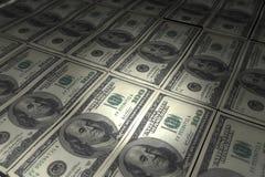 dolarowych 100 rachunków Zdjęcie Royalty Free