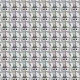 Dolarowych rachunków Abstracted wzór Zdjęcia Royalty Free