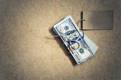 dolars kaartfoto stock afbeelding
