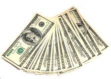 Dolars pengar Royaltyfri Foto