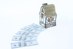 dolary domów Fotografia Royalty Free