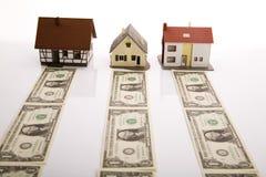 dolary domów obrazy stock