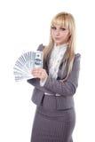 dolary dziewczyny target854_0_ Obrazy Stock
