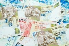 Dolary Hong Kong, Hong Kong pieniądze, Hong Kong banknot obraz royalty free