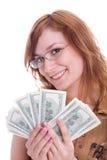 dolary kobieta zdjęcie royalty free