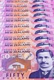 dolary nowych Zealand Fotografia Royalty Free