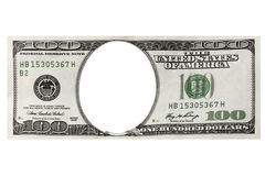 dolary obramiają sto jeden Obrazy Stock