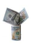 Dolary odizolowywali biel Zdjęcia Stock