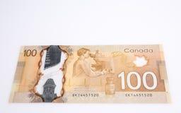 Dolary pieniądze odizolowywającego na bielu Obrazy Royalty Free