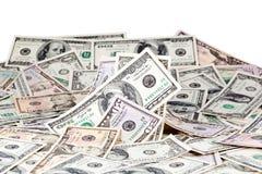 dolary pieniędzy Zdjęcie Stock