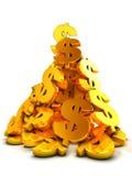 dolary rozsypisko Fotografia Stock