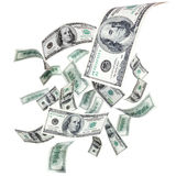 dolary target9_1_ Obrazy Stock