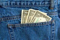 dolary trzy Zdjęcie Stock