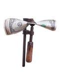 Dolary w stresie w starym kahacie Obraz Stock