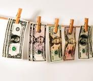 Dolary ważą na arkanie Zdjęcie Stock