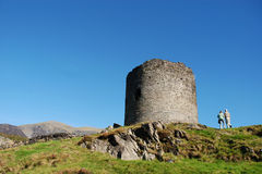 Dolbadarn Castle 06 Royalty Free Stock Photo
