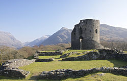 Dolbadarn Castle Keep in Llanberis Royalty Free Stock Photos
