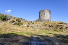 Dolbadarn Castle, Llanberis, Snowdonia στοκ φωτογραφία με δικαίωμα ελεύθερης χρήσης