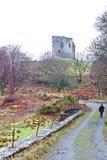dolbadarn grodowi llanberis Wales Obraz Royalty Free