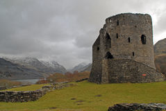 Dolbadarn Medieval Castle Royalty Free Stock Photography