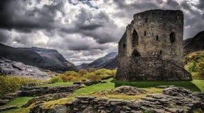 Dolbadarn slott Royaltyfri Fotografi