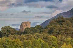 Dolbadarn slott Arkivfoto