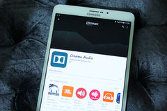 Dolby atmos cinema audio app. Downloading dolby atmos cinema audio app from google play store on samsung tablet. Dolby Atmos is the name of a surround sound stock photos
