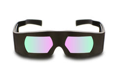 Dolby cinema 3D glasses Stock Photo