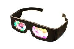Dolby 3D glazen Stock Foto's